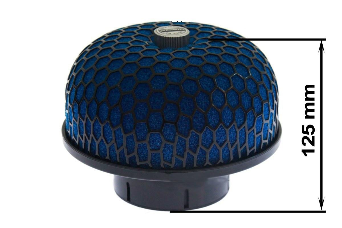 Filtr gąbkowy SIMOTA JAUWS-245 60-77mm Blue - GRUBYGARAGE - Sklep Tuningowy